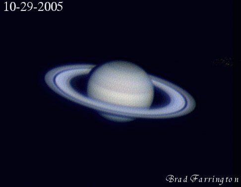 Blue Saturn Planet - Pics about space
